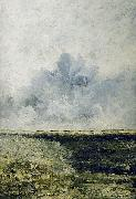 August Strindberg Seascape oil painting artist