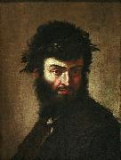 BRAMANTE Self-portrait oil