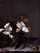 Balthasar van der Ast Still-Life with Apple Blossoms oil painting