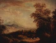 Christian Georg Schutz the Elder Gebirgslandschaft oil painting