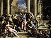 El Greco La Purificacion del templo Roma oil painting reproduction