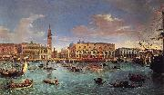 Gaspar Van Wittel View of the San Marco Basin Spain oil painting artist