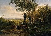 Gerard Bilders Meadow near Oosterbeek oil painting artist