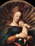 HERRERA, Francisco de, the Younger Darmstadt Madonna oil painting artist