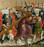 Hans Multscher The Cross of Christ; The Wings of the Wurzach Altar oil painting artist