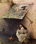 Hieronymus Bosch St Peter with the Donor oil