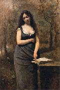 Jean Baptiste Camille  Corot Valleda oil painting reproduction