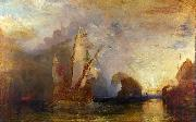 Joseph Mallord William Turner Ulysses deriding Polyphemus oil painting reproduction