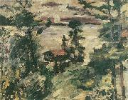 Lovis Corinth Walchensee, Morgennebel oil painting reproduction