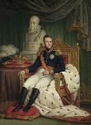 Mattheus Ignatius van Bree Portrait of William I, King of the Netherlands oil painting artist