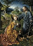Oostsanen, Jacob Cornelisz van Christ Appearing to Mary Magdalen as a Gardener oil painting artist