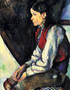 Paul Cezanne Knabe mit roter Weste Spain oil painting artist