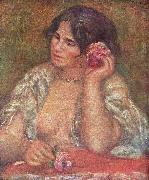 Pierre-Auguste Renoir Gabriele mit Rose Spain oil painting artist