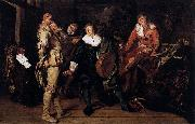 Pieter Codde Actors Changing Room oil painting artist