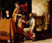 Pieter Lastman King David Handing the Letter to Uriah Spain oil painting artist
