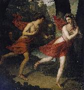 Robert Lefere Pauline as Daphne Fleeing from Apollo Spain oil painting artist