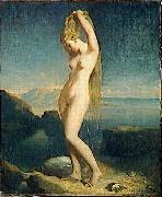 Theodore Chasseriau Venus of the sea Spain oil painting artist