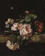 Willem van Aelst Group of flowers Spain oil painting artist