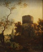 Adam Pijnacker Landscape near Tivoli oil painting