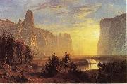 Albert Bierstadt Yosemite Valley, Yellowstone Park oil painting reproduction
