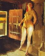 Anders Zorn Girl in the Loft Spain oil painting artist