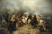 Carl Wimar Battle of Lutzen oil painting