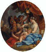 Charles le Brun Venus Clipping Cupids Wings oil