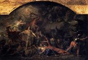 Charles le Brun The Conquest of Franche Comte oil