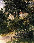 Edouard Manet Gartenweg in Rueil Spain oil painting artist