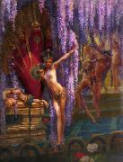 Gaston Saintpierre Exotic Dancers oil painting artist