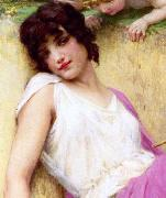 Guillaume Seignac L innocence Spain oil painting artist