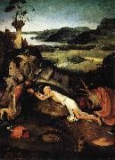 Hieronymus Bosch Jerome at Prayer oil