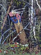 Ivan Bilibin Baba Yaga from Vassilisa the Beautiful 1899 oil painting reproduction