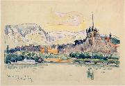 Paul Signac Geneva Spain oil painting artist