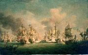 Richard Paton The Battle of Barfleur, 19 May 1692 oil painting