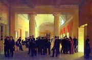Sergey Zaryanko In The Hall Of The Law College oil painting