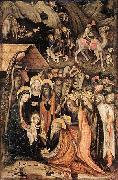 Stefano da Verona Adoration of the Magi oil painting artist