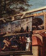 William Hogarth Wahlzyklus oil painting reproduction