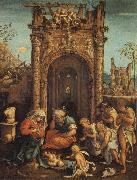 ASPERTINI, Amico The Adoration of the Shepherds oil painting picture wholesale