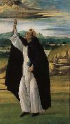 Alessandro Botticelli St.Dominic oil