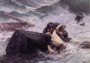 Alfred Guillou Adieu oil painting picture wholesale