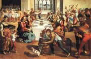 Andrea Boscoli The Marriage at Cana oil painting artist
