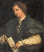 Andrea del Sarto Portrait of a Girl oil painting picture wholesale