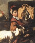 Arcangelo Resani Self-Portrait oil