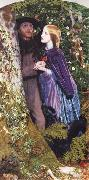 Arthur Hughes The Long Engagement oil painting picture wholesale