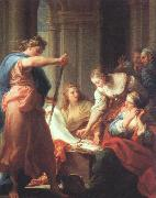 BATONI, Pompeo Achilles at the Court of Lycomedes oil painting picture wholesale