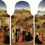BOSCH, Hieronymus The Adoration of the Magi oil painting artist