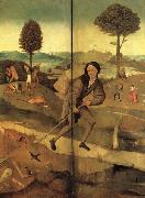 BOSCH, Hieronymus The Hay Wain(exeterior wings,closed) oil painting artist