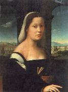 BUGIARDINI, Giuliano Portrait of a Woman oil painting picture wholesale