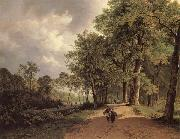 Barend Cornelis Koekkoek View of a Park oil painting picture wholesale